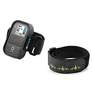 Nylon + Nylon fastener tape Hand Band Strap for GoPro Hero 3 / 3+ Wi-Fi Remote Control - Black