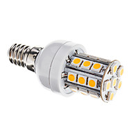 E14 3 W 27 SMD 5050 350 LM Warm White Dimmable Corn Bulbs AC 110-130 V