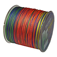 500M / 550 Yards PE Braided Line / Dyneema / Superline Fishing Line Assorted Colors 40LB / 30LB / 22LB / 35LB 0.2;0.23;0.26;0.28 mm For