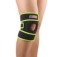 Reinforced Knee Support Knee Brace Sports Support Eases pain Protective Adjustable Thermal / Warm Baseball Camping & Hiking Running Black