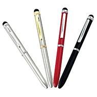 Capacitif Touch Dual Screen Reffils Stylet avec stylo à bille pour iPad, iPhone et téléphone portable