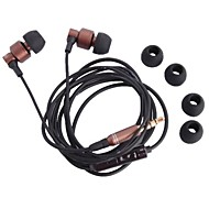 M3 Headphone 3.5mm In Ear canal Hands-free with Microphone for iPhone(120cm)