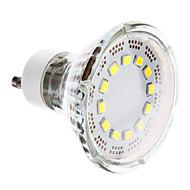 GU10 1 W 12 SMD 2835 120-140 LM Cool White Spot Lights AC 220-240 V