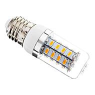 E26/E27 4 W 36 SMD 5730 300 LM Warm White Dimmable Corn Bulbs AC 220-240 V