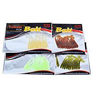 12 Stk. Blød Madding Lokkepakker Blink Blød Madding Lokkepakker Grøn Gul Gennemsigtig Rød Tilfældige farver Diverse Farver g/Unse mm/