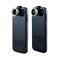 Lente 3 en 1 Ojo de Pez 180º + Gran Angular + Macro 0.67X para iPhone y Otros