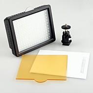 WanSen126 126 Torche vidéo LED lumière de la caméra photo de caméscope d'éclairage 5600K Lampe LED pour Canon Nikon Hot Filtre à chaussures
