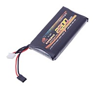 Brann Bull 11.1V 2200mAh High Rate Li-po RC Batteri til RC Airplane / Båt / Bil