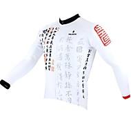 PALADIN Moto/Ciclismo Camisa / Blusas Homens Manga CompridaRespirável / Resistente Raios Ultravioleta / Secagem Rápida / Design Anatômico