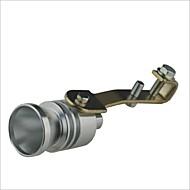 Auto Turbo Sound Whistling turbocompressor - Zilver (maat L)