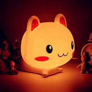 ウサギの形表示LEDナイトライト(アソートカラー)