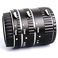 meike® af macro mise au point automatique d'un anneau de tube d'extension métallique fixé pour la caméra