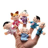 Parents-child Plush Figure Finger Puppets