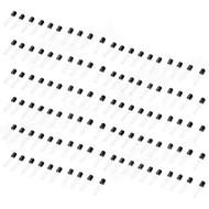 DIY Silicon Transistor Set (musta) (110 KPL)