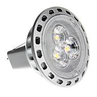 GU4(MR11) 2W 3 SMD 2835 180 LM Warm White MR11 LED Spotlight DC 12 / AC 12 V