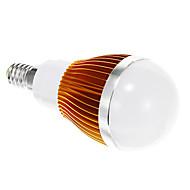 E14 5 W SMD 5730 400 LM Warm White Globe Bulbs AC 85-265 V