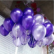 100pcs/lot Latex Helium Inflable Thickening Pearl Wedding eller Birthday Party Balloon