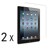 [2 pacotes] Prémio alta definição clara Protetores de tela para iPad 2/3/4