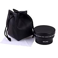 52mm 0.45x objectif grand angle macro sac de lentille pour Nikon D5000 D5100 D3100 D7000 D3200 d80 d90