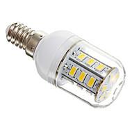 E14 5W 24 SMD 5730 450 LM Warm White T LED Corn Lights AC 220-240 V