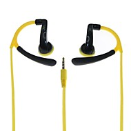 Actrail IN-042 Hi-Fi Sport Stereo  Headphones-White / Yellow