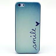 Sorriso padrão Borboleta Hard Case para iPhone 5C