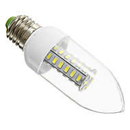 E26/E27 6 W 42 SMD 5730 420 LM Cool White Candle Bulbs AC 220-240 V