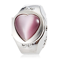 Women's Sweet Heart Shape Gem Alloy Quartz Ring Watch (Assorted Colors) Cool Watches Unique Watches