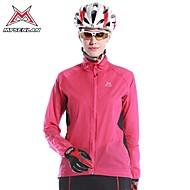 MYSENLAN Women's Windproof Rainproof Long Sleeve Cycling Wind Coat