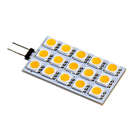 Lampes à Deux broches Blanc Chaud / Blanc Froid G4 3.5 W 15 SMD 5050 140-160 LM DC 12 V