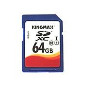 auténtica tarjeta de memoria SDHC kingmax - 64gb (clase 10)