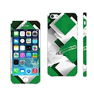 AIKUSU ® Mixed Color Design Mobiltelefon Skin Cover for iPhone 5/5S KSCT0013
