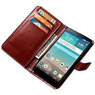Luxury Wallet Stand Design PU Leather Case for LG Optimus G3 D855 D850