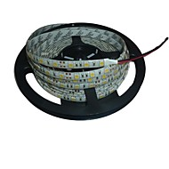 waterdichte 5m 72W 300 * 5050 smd 4800lm wit licht led strip lamp (12V)