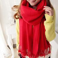 unisex winter lange wollen sjaal