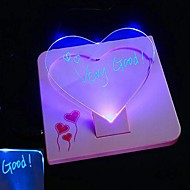 Coway multifunktionella anslagstavla ljusavgivande LED-ljus ombord (slumpvis färg, 220v)
