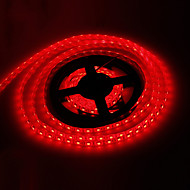 Vattentät 5M 72W 300x5050SMD Red Light LED Strip Lamp (DC 12V)