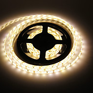 Vattentät 5M 60W 60x5730SMD 7000-8000LM 3000-3500K Warm White ljus LED Strip Light (12V)