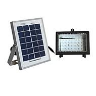 Sistema di illuminazione 30 LED 2W pannello solare bianco solare lampada di inondazione
