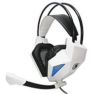 PC用のマイクと耳のゲームのステレオ低音ハイファイオーバーsades sa709ヘッドフォン3.5ミリメートル