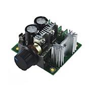 008 0031 12v ~ 40v 10a du commutateur de contrôle de vitesse du moteur Pulse Width Modulation PWM continu
