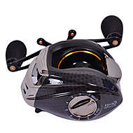 TS1200 Right Handle 13+1 Ball Bearing Black Fishing Reel