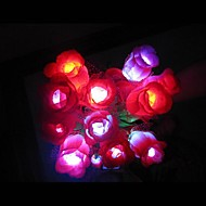 Coway Colorful With Rose LED Night Light Romantic Couple Special(Random Color)