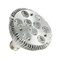 LOHAS Dimmbar PAR Lampen PAR E26/E27 9 W 830-880 LM 2800-3200K K 9 High Power LED Warmes Weiß AC 100-240 V