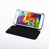 4200 Milliamperestunden-externe Unterstützungsladegerät für Samsung-Galaxie s5 (schwarz) / samsung galaxy s5 Holster Akku 4200mAh