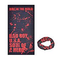 KORAMAN Summer Bad Boy Red Black Cycling Sun-Proof Magic Scarf Headband