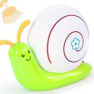 Coway Bedroom Bedside Lamp Snail Environmental Protection Energy-Saving Creative Small Table Lamp(Random Color)