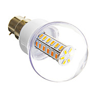 E14 / B22 6 W 42 SMD 5730 420 LM Warm White / Cool White T Corn Bulbs AC 220-240 V