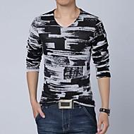 Men's Casual Long Sleeves T-shirt
