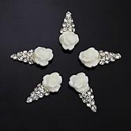 10pcs     IceCream 3D Rhinestone Flower DIY Accessories Nail Art Decoration